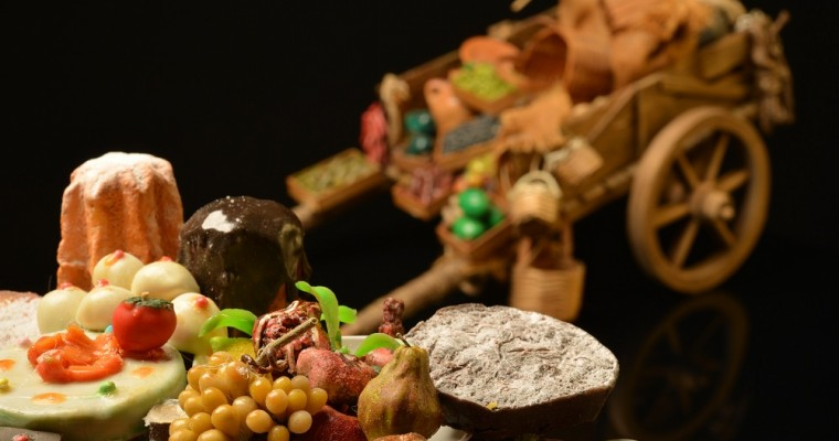 Miniature food for your nativity