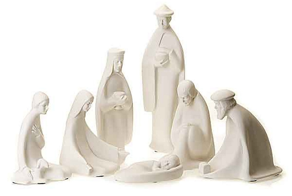 Minimalist nativity for a Modern and Chic Christmas