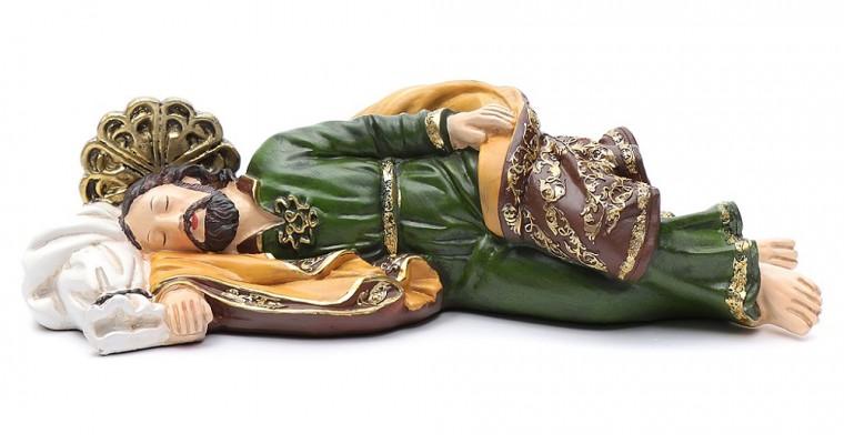 Sleeping Saint Joseph: Pope Francis' patron saint