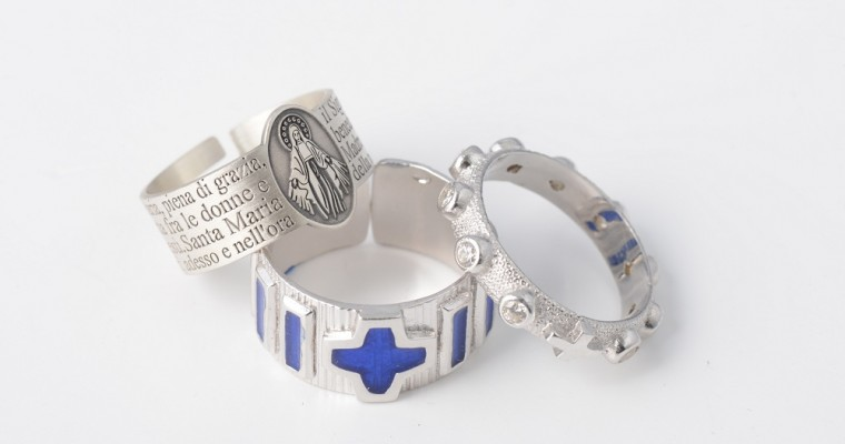 Prayer rings: a gift made with faith and love