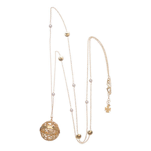 amen necklace calls angels golden silver