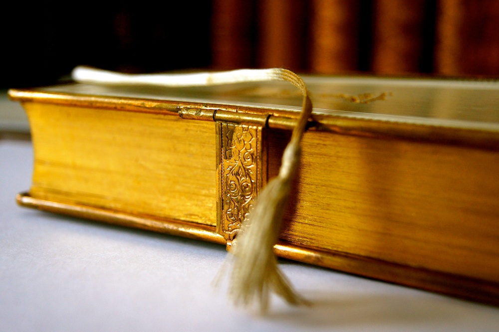 Bible bookmark: read the verse that gives you strength