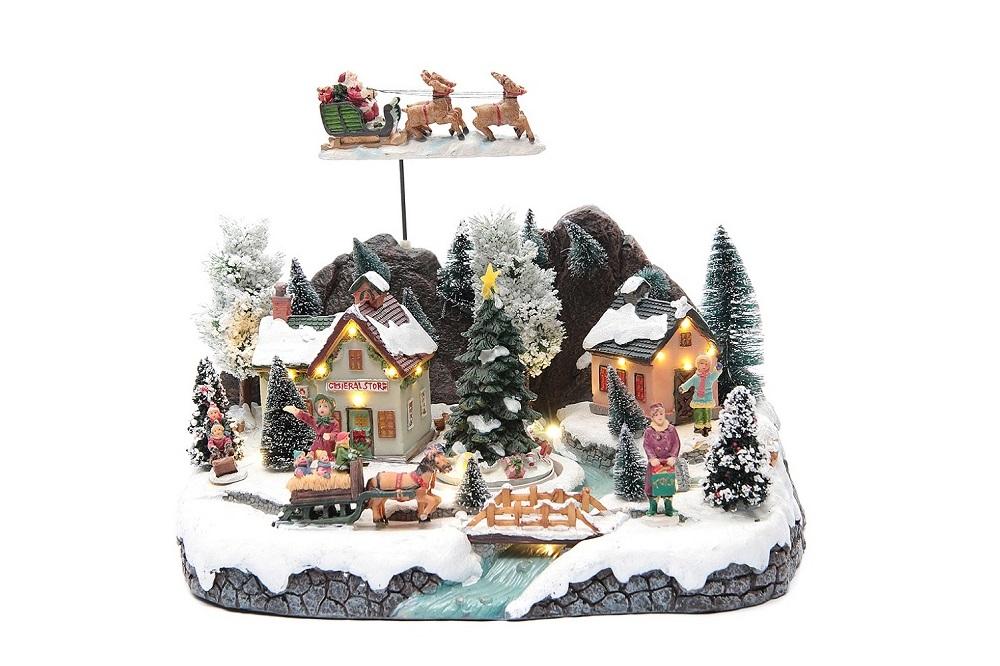 Holyart miniature Christmas villages