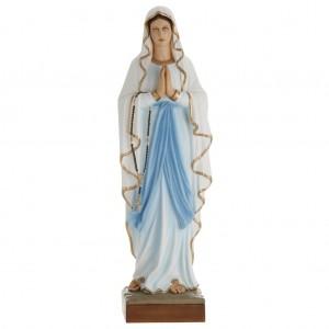Our Lady of Lourdes fiberglass statue 100 cm