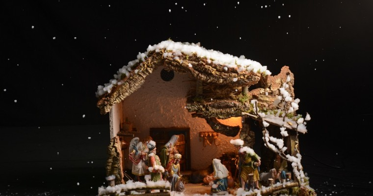 DIY – Snowy Nativity