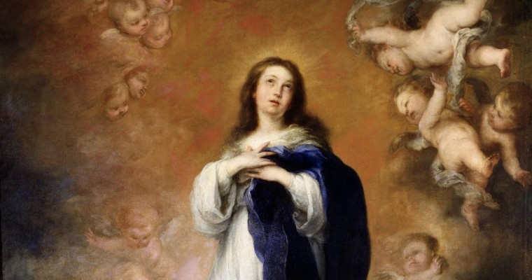 Immaculate Virgin Mary as a symbol of the Redemption